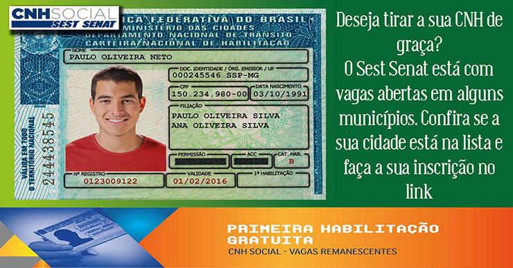 CNH Social MInas Gerais